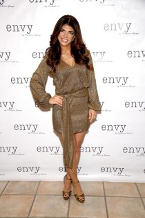 HAWTHORNE, NJ - MARCH 30: Teresa Giudice attends the envy By Melissa Gorga Fashion Show at Macaluso's on March 30, 2016 in Hawthorne, New Jersey. (Photo by Paul Zimmerman/WireImage)